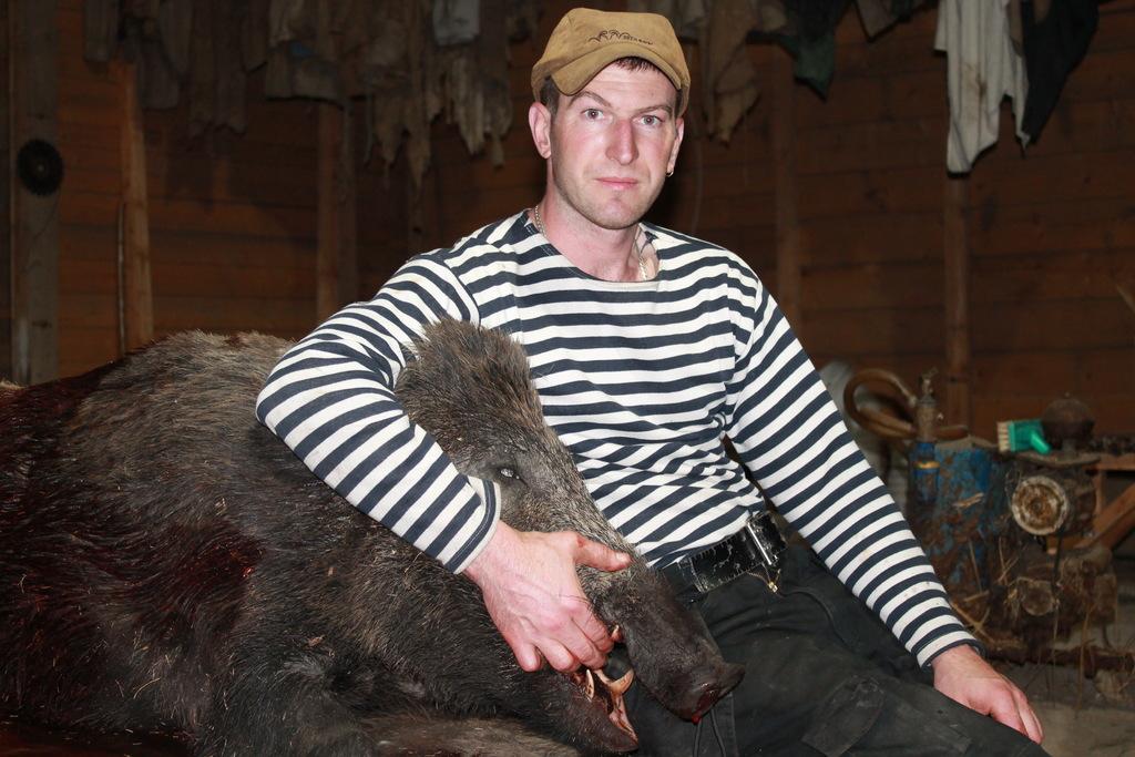 Viens no lielākajiem medījumiem četrus gadus ilgajā mednieka karjerā.
