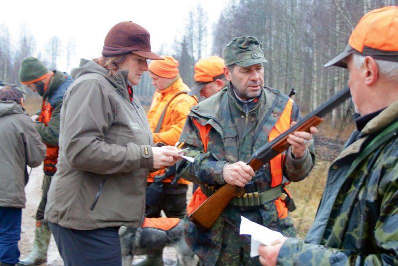 """VMD pārbaude mednieku un makšķernieku klubā """"Tūjas"""""""