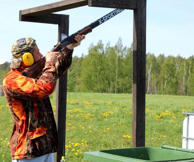 Viesturs atzīst, ka veiksme medībās atkarīga arī no treniņiem šautuvē