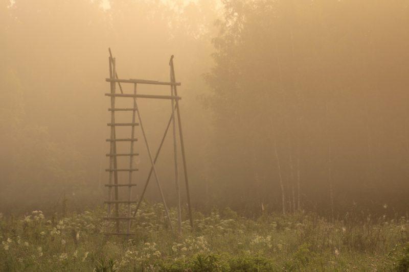Viens no veidiem, kā medības padarīt pēc iespējas drošākas, ir medību vietas labiekārtošana ietīkojot medību tornīšus.