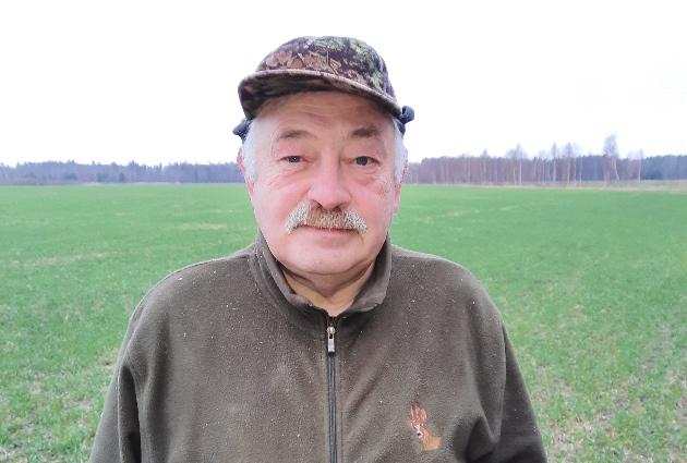 Valgundes pagasta daļu apsaimniekojošā kluba Tīreļi vadītājs, Babītes novada medību koordinācijas komisijas priekšsēdētājs, vietējās pašvaldības deputāts Nikolaju Antipenko.