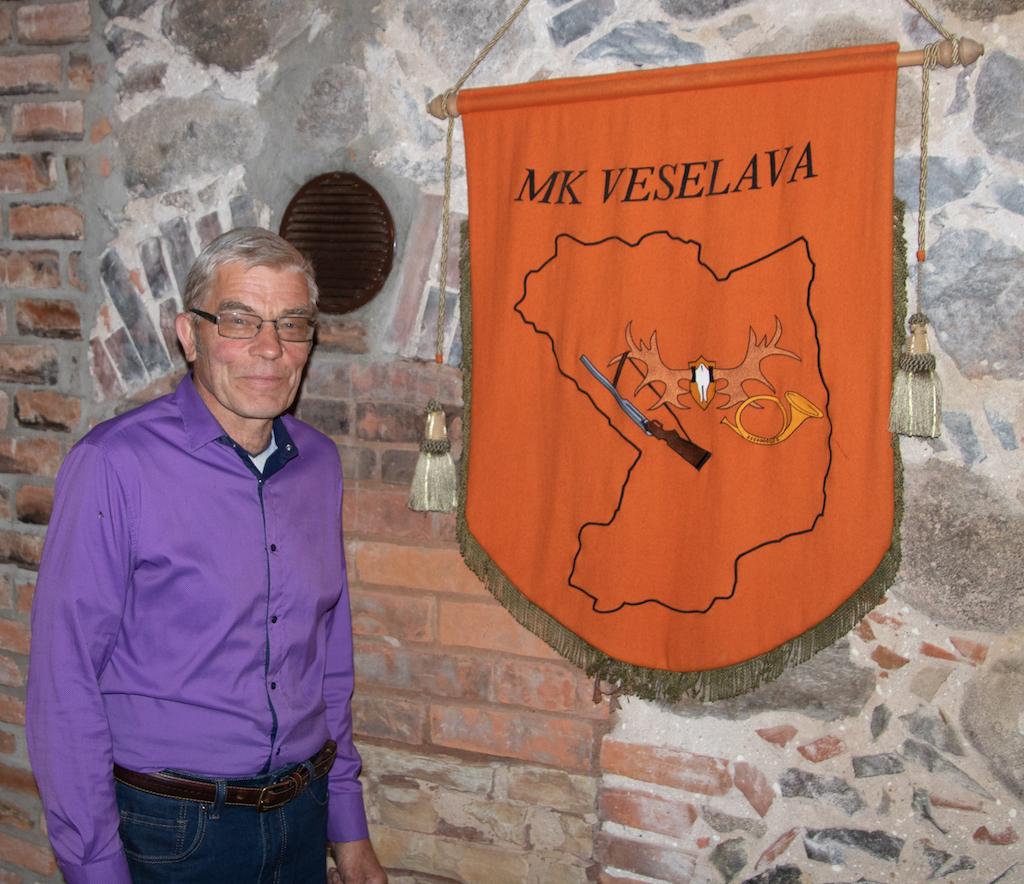 Mednieku klubu Veselava piekto gadu vada Atis Kalniņš.
